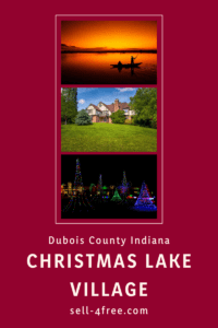 Christmas Lake Village Indiana