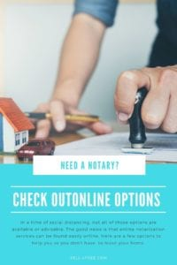 Need a Notary? Check out Online Options